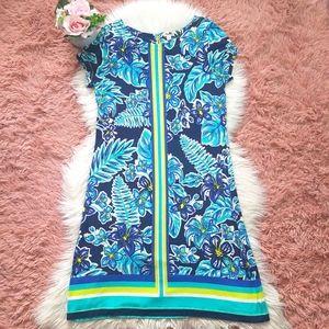Hatley Tee Shirt Dress Kauai Floral Rainforest